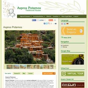 Asprospotamos traditional houses Makrigialos Crete